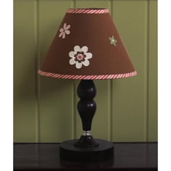 Ladybug and Flower Lamp Shade