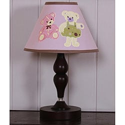 Pink Teddy Bear Lamp Shade
