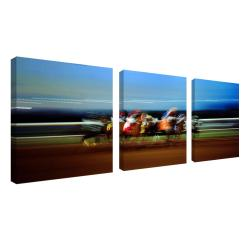 Preston 'The Finish Line' 3-panel Art Set