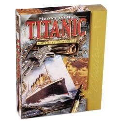 Murder on the Titanic 1000-piece Mystery Jigsaw Puzzle