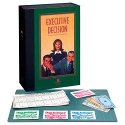 Executive Decision Corporate Business Game