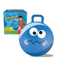 Blue 22-inch Jumping Ball