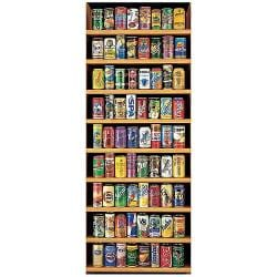 Soft Drink Cans 2000-piece Jigsaw Puzzle