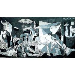 Guernica, Pablo Picasso Bold Anti-war 3000-piece Jigsaw Puzzle