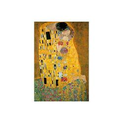 Klimt The Kiss Metallic 1000-pc Jigsaw Puzzle