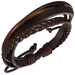 Leather 'Multi Layer' Bracelet