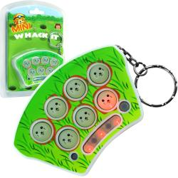 Mini Whack-it Mouse Pack of 2 Keychain 3-level Travel-sized Game