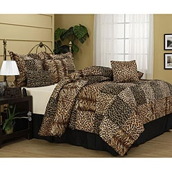 Cameroon 7-piece Animal Patchwork Comforter Set