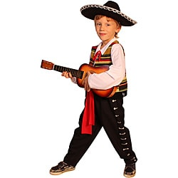 Dress Up America Kid's Mexican Mariachi Costume