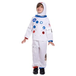 Dress Up America Kid's NASA Astronaut Costume