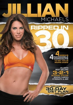 Jillian Michaels Ripped In 30 (DVD) 7520052