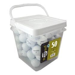 TaylorMade TP Black LDP 50-count Recycled Golf Balls