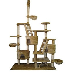 GoPetClub Huge Gym Cat Tree Condo