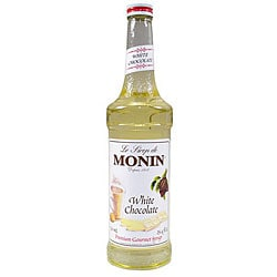 Monin 750-ml White Chocolate Syrup (Pack of 12)