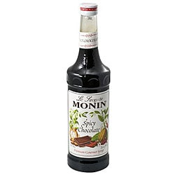 Monin 750-ml Spicy Chocolate Syrup (Pack of 12) 7530614