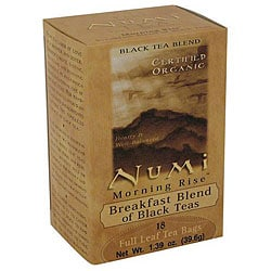 Numi Morning Rise Tea Bags (Pack of 6)