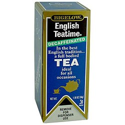RC Bigelow Inc. Decaffeinated English Tea (Case of 168)