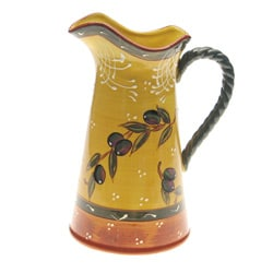 Certified International French Olives 2.75-qt Pitcher