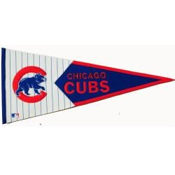 Chicago Cubs Classic Wool Pennant