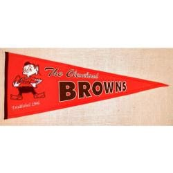 Cleveland Browns Throwback Wool Pennant