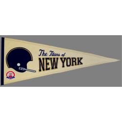 New York Jets AFL Throwback Wool Pennant 7534183