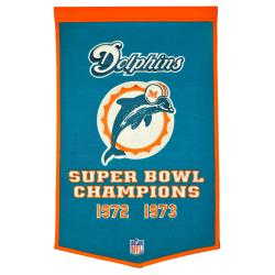 Miami Dolphins NFL Dynasty Banner