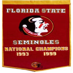 Florida State Seminoles NCAA Football Dynasty Banner 7534221