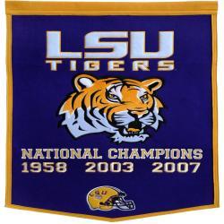 LSU Tigers NCAA Football Dynasty Banner 7534229