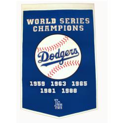 Los Angeles Dodgers MLB Dynasty Banner 7534250