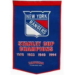 New York Rangers NHL Dynasty Banner 7534261