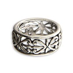 Sterling Silver 'Understanding' Ring (Indonesia)