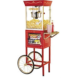 Nostalgia Electrics Vintage Popcorn and Concession Cart (As Is Item)