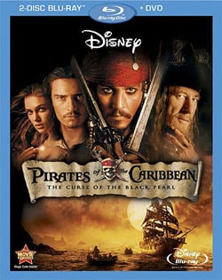 Pirates of the Caribbean: Curse of the Black Pearl (Blu-ray/DVD) 7550804