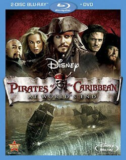 Pirates of the Caribbean: At World's End (Blu-ray/DVD) 7550806