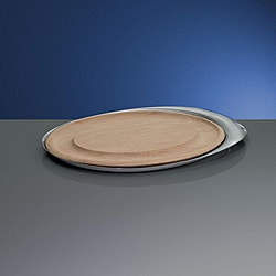 Yamazaki Tantalyn 18.25-inch Oval Cheese/ Carving Tray