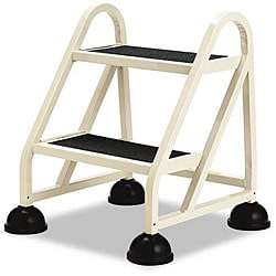 Stop-Step Two-Step Aluminum Ladder