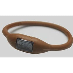 TRU: Metallic Bronze Silicone Band Sports Watch