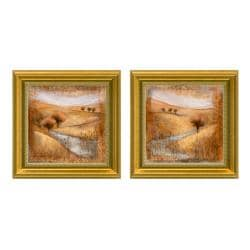 Rosie Abrahams 'Waterside' Framed 2-piece Art Set