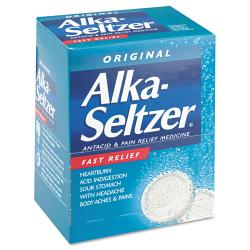 Alka-Seltzer Antacid and Pain Relief Medicine (Case of 50)