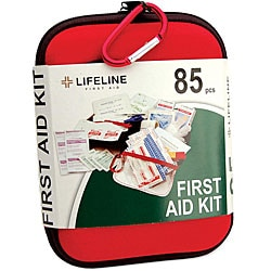 Large 85-piece EVA First Aid Kits (Pack of 6)