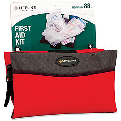 Lifeline First Aid Mountain 88-pc First Aid Kit (Pack of 6)