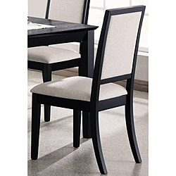 Premier Black Dining Chairs (Set of 2)