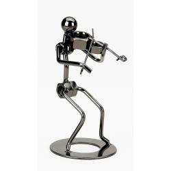 Decorative Violist Metal Figurines
