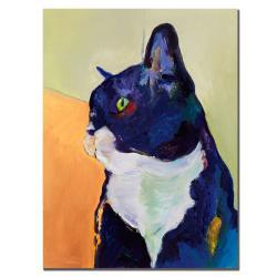 Pat Saunders-White 'Bird Watcher' Canvas Art