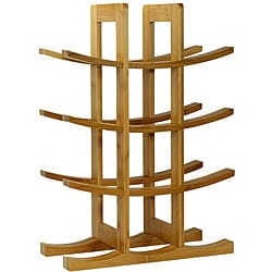 Oceanstar 12-bottle Bamboo Wine Racks (Pack of 12)