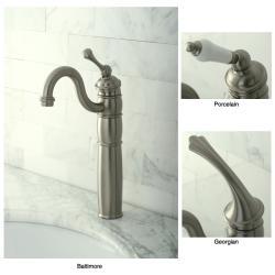 Heritage Satin Nickel Vessel Faucet