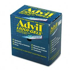 Advil Two-pack Liqui-Gels Over-the-counter Medicine (Box of 50)