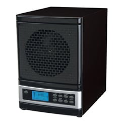 MicroLux Black 7-stage UV Ion Air Purifier with Remote 7601915