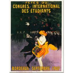 'Bordeaux Sept' Canvas Art