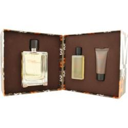 Hermes and apos Terre D and apos hermes and apos Men and apos s Three piece Fragrance Set
